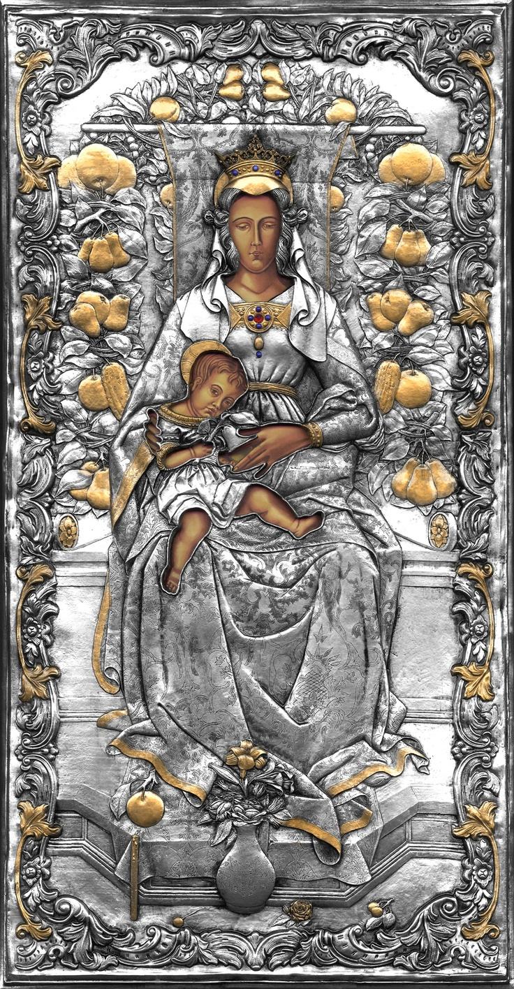 Madonna Candeletta by Crivelli