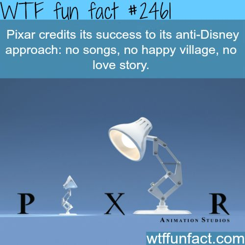How Pixar became successful -WTF funfacts