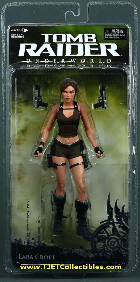 """Lara Croft Underworld Tomb Raider 7"""" Action figure MIP NECA 2008 #TombRaider"""