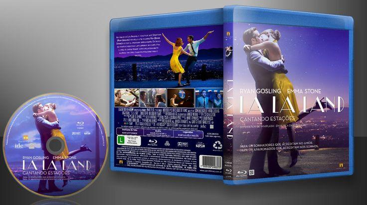 La La Land - Cantando Estações (Blu-Ray) - Capa | VITRINE - Galeria De Capas - Designer Covers Custom | Capas & Labels Customizados