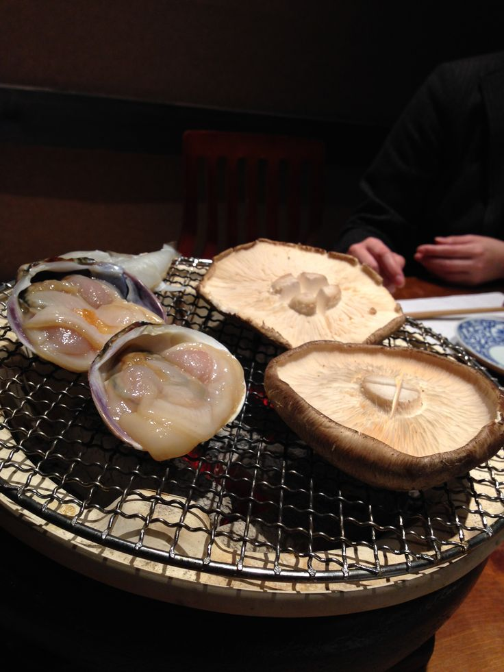 Shiitake (mushroom) Freshwater clam