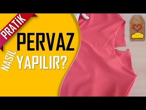 Kolay Pervaz Nasıl Yapılır? – How to make the rim? | Dikiş Hocam – YouTube