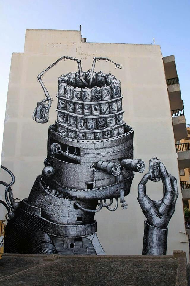 nike free run+ 2 mens running shoes Phlegm New Mural In Ibiza, Spain | Street Art & Alternative Art |  | Ibiza, Ibiza Spain and Murals