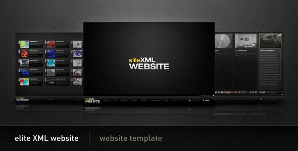 Elite Xml Website