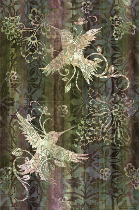 Victorian deco sage print by jq licensing imagenes - Late victorian wallpaper ...