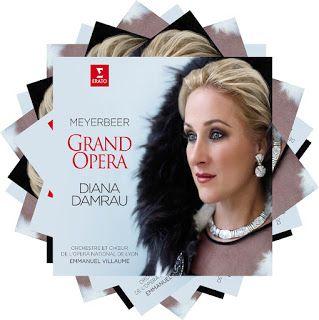 Meyerbeer  Grand Opera    Diana Damrau, soprano    Orchestre et Chœur de l'Opéra National de Lyon  Emmanuel Villaume, conductor    Erato, 2017