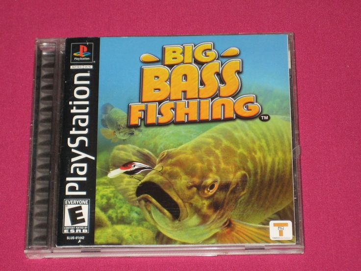 Big Bass Fishing PS1 Video Game - Sony PlayStation 1 - 2002, COMPLETE | eBay