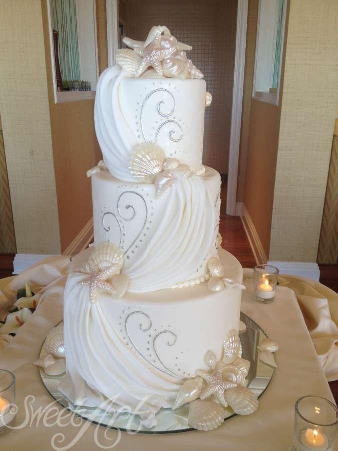 Petal Design Dragon Cake