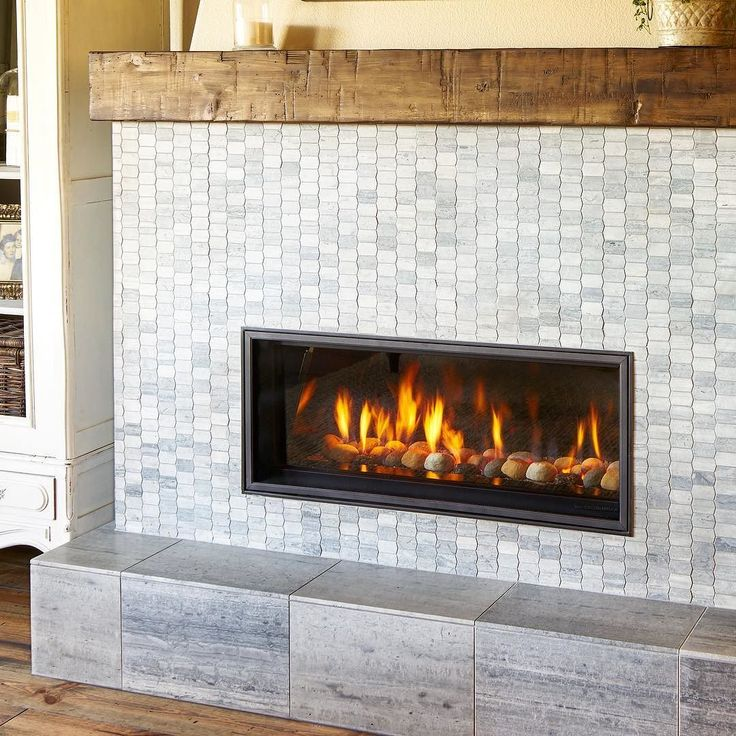 Anyone else wishing to take up permanent residence next to this cozy carriage house fireplace?