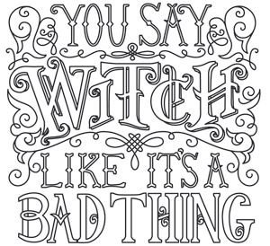81 best Witchy Coloring Pages images on Pinterest Coloring books