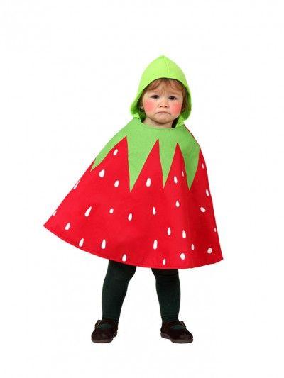#disfraz de fresa para #bebe
