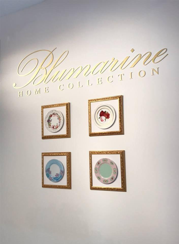 "Blumarine Home Collection - Art de la Table 2017 collection Blumarine unveils ""Romantic Doily"" and ""Ocean Blue"", the new tableware proposals echoing the romantic and suggestive codes of the pret-à-porter line. Info: blumarinehome@arn... Salone del Mobile - Fiera Milano Rho"