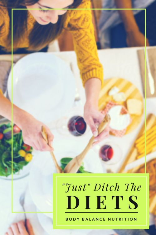 Ditching the diet and intuitive eating