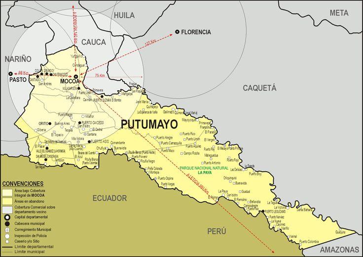 Resultado de imagen para orito municipio mapas