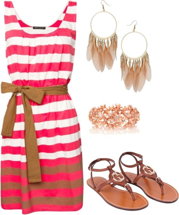 4th of July Outfit, created by niki-jones on Polyvore