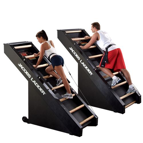 Jacobs Ladder - I want this to be my next exercise machine in my home gym.