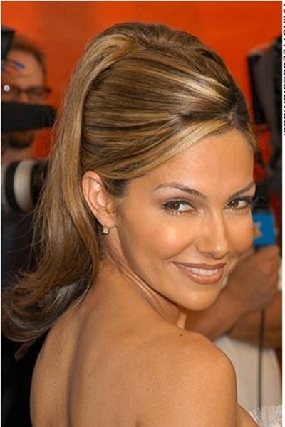 Vanessa Marcil, Updo Hairstyle For Women With Long Hair