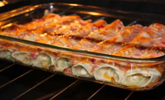 Skinny enchiladas.  Only 150 calories. Weight Watchers PointsPlus: 4
