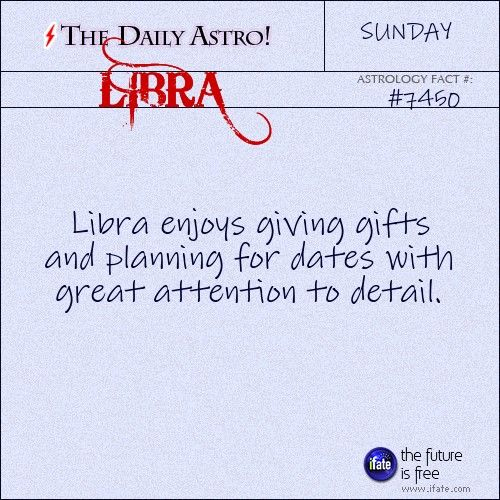 Libra Daily Astro!: Low energy today?  Have you checked your biorhythm?  Visit iFate.com today!
