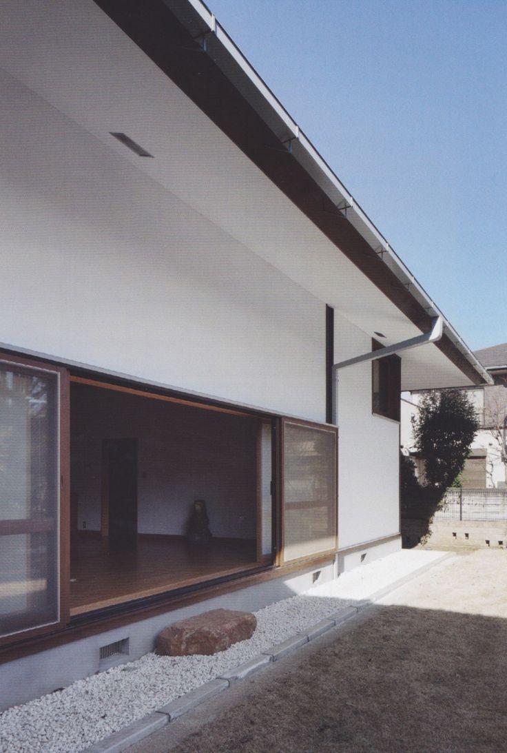 Kazuo Shinohara, House in White, 1964 http://misfitsarchitecture.com/tag/kazuo-shinohara/