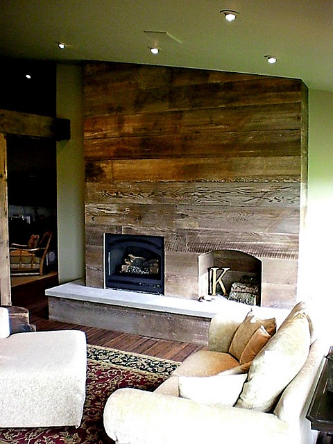 Fireplace options other than stone tile and brick there for Fireplace options