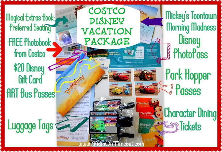 Our Costco Disney Vacation Package - Mom On Timeout