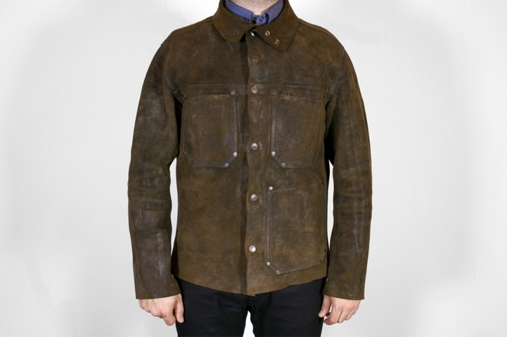 J77 Welder's Jacket | Hammarhead | Men | Dunderdon: Hammarhead Industries, Mens Fashion, Masculine Style, Hammarhead Dunderdon, Welder S Jackets, Welding Jacket, Jackets But, Jacket Hero