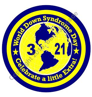 World Down Syndrome Day 2016 button design  Order yours today!  #wdsd2016