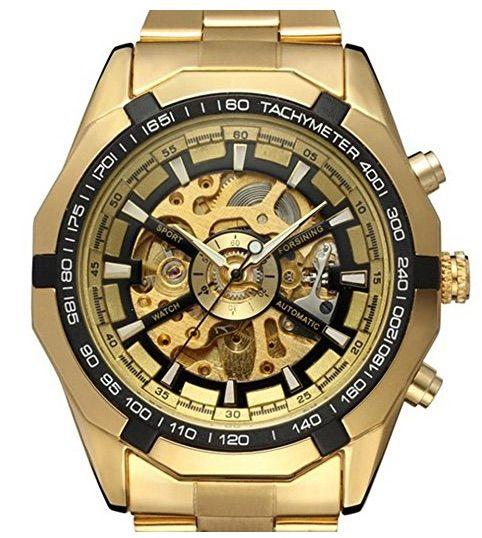 Los nueve Relojes Mecánicos Automático con Pulsera de Acero Inoxidable de la marca PIXNOR para Hombre | Joyería online, joyas de Plata y Oro.