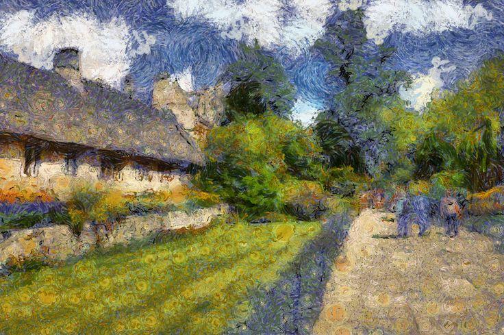 Dynamic Auto Painter software, Van Gogh Style