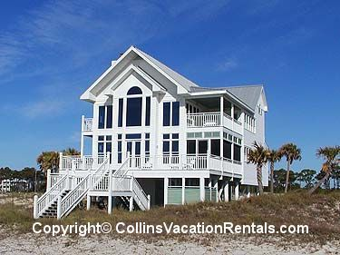 Easy Livin East End Beach Front St George Island Florida Collins Vacation Als Pinterest And Cottages