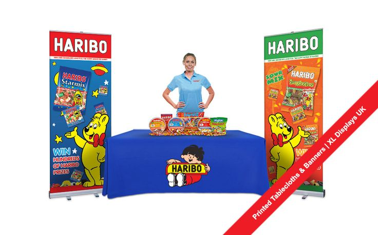 Promotional Tablecloths and Printed Banners Exhibition Stand Bundle Deals from XL Displays UK #promotional #tablecloths