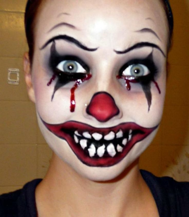 17 Best Ideas About Scary Clown Makeup On Pinterest | Clown Makeup Clowns And Horror Makeup