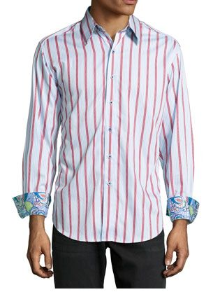 Any Robert Graham fans out there??? Get this very cool shirt for only $78!! This shirt is normally $198.00!!! This is at Neiman Marcus Last Call. I just added a new promo code for an extra 35% off!!! Hurry, with prices like this, they won't last long!!   Details: http://www.coupondad.net/neiman-marcus-last-call-promo-codes/ #LastCall #hotdeals