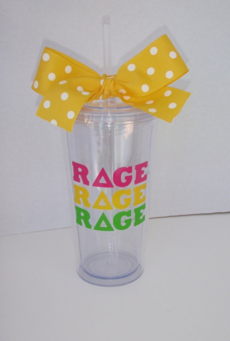 : Tridelta, Colleges Life, Cute Cups, Gifts Ideas, Sorority Tumblers, Gift Ideas, Cute Ideas, Bows, Personalized Cups