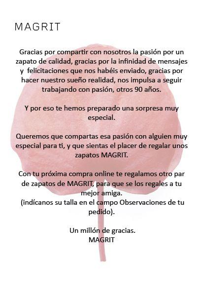 Te hemos preparado una sorpresa muy especial !!!!!! www.magrit.es