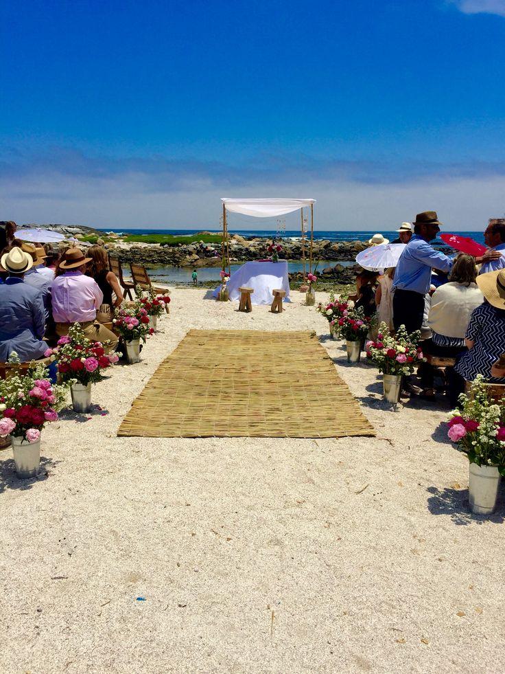 Ceremonia en la playa by me
