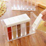 Transparent Plastic 6 Case Seasonin...