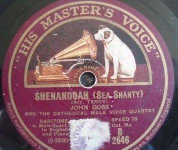 Mandskoret med Shenandoah.  Dette er en av de store tradisjonelle amerikanske folkesangene, som også ble en populær sjanti. Det er flere varianter av denne med den vanligste er den romantiske hvor det er en sjømann eller soldat som lengter hjem til Virginia, og Shenandoah dalen. Hør vår eminente første bass, Eiulf, som solist. Hør hele Shenandoah på YouTube https://www.youtube.com/watch?v=YHzlIEyjq9c&feature=youtu.be
