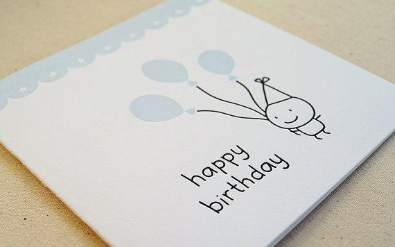 Happy Birthday / Letterpress Card