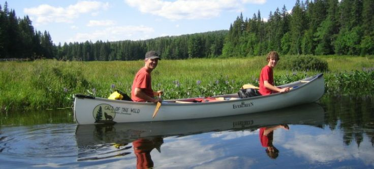 Call Of The Wild - Adventure Consultants, located just south of Algonquin Park.  Call Of The Wild has been professionally guiding canoe trips in Algonquin Park since 1993. We are one of the oldest continuously running canoe tripping companies in Ontario, and also one of an elite few that own a Lodge in the Algonquin Park area.  A highlight of our winter adventures is dog sledding. We run 3-4 day dog sled trips, as well as very popular dog sled day trips.