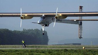avion solaire - solar impulse