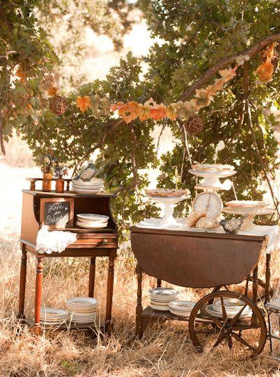 Fall Wedding Desserts. Creative Wedding Food Bar Ideas For Your Big ...