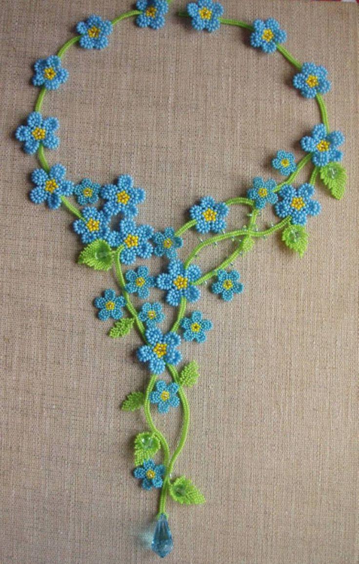 "Saatchi Art Artist Svetlana Eltsova; , ""Forget-me-not flowers"" #art"