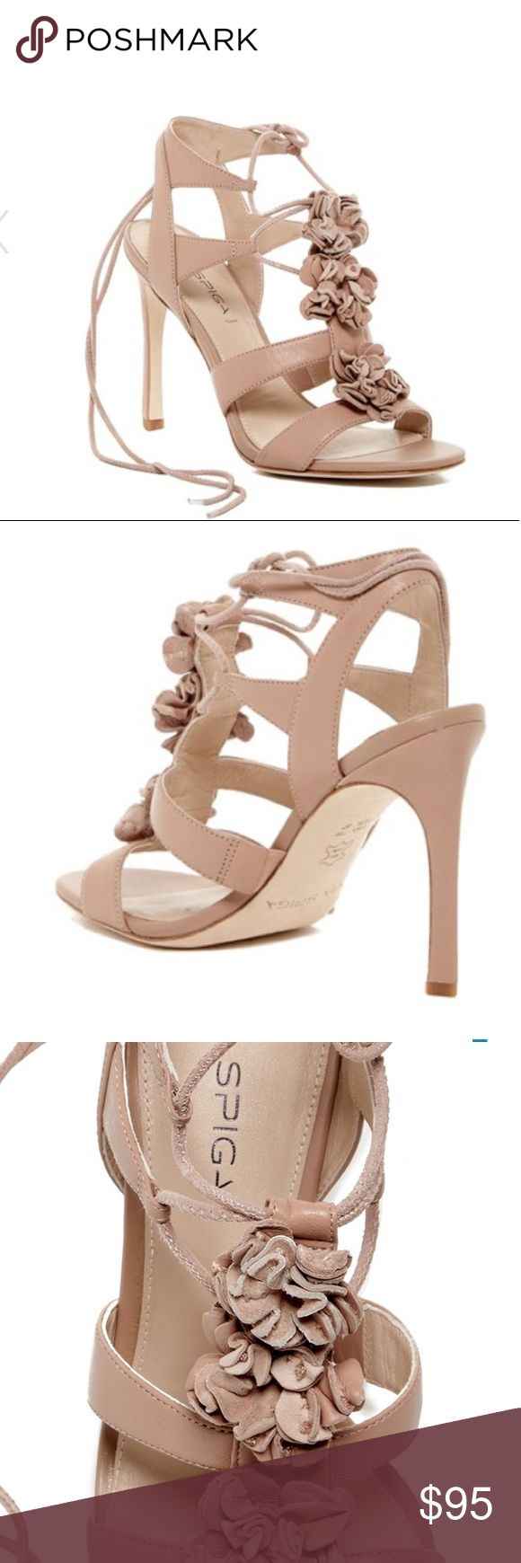 NWT Via Spiga Deedee lace up heel, blush, 8.5 NWT Via Spiga Deedee lace up heel, blush, 8.5. Open toe, cut out design. Ankle strap with lace up counter design. Lightly padded footbed and cone heel. Perfect for a wedding or night out on the town. Excellent neutral color! Via Spiga Shoes Heels