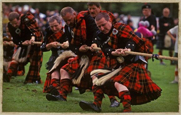 See the highland games
