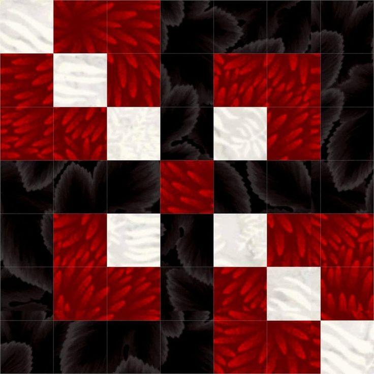 Leavenworth Nine Patch Quilt Block