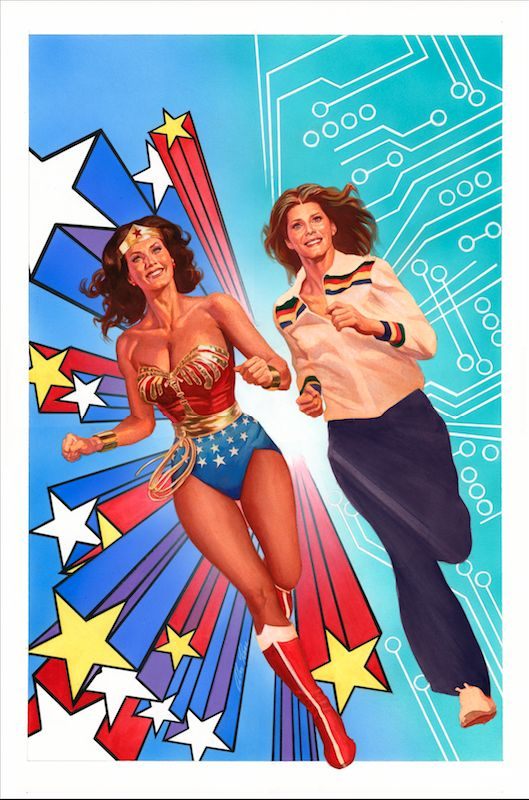 The Dynamite/DC Comics crossover project Wonder Woman '77/Bionic Woman is interesting on a number of levels. Not least that writer Andy Mangels. denied by