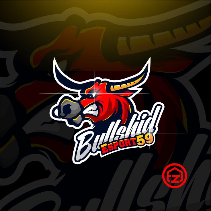 "Check out my @Behance project: ""BULLSHID ESPORT LOGO 59"" https://www.behance.net/gallery/55519405/BULLSHID-ESPORT-LOGO-59"