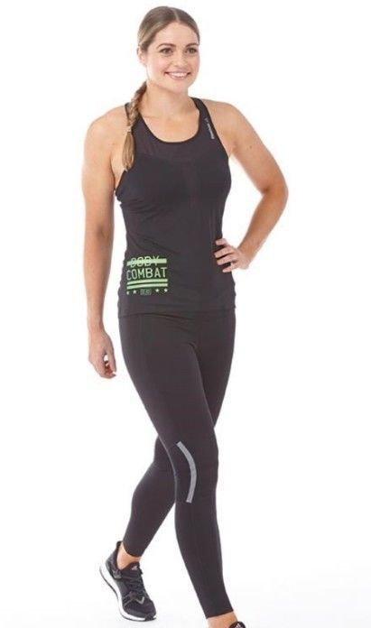 New Reebok Les Mills Bodycombat Activchill Training Top All Sizes Ladies 0 to 18 in Clothes, Shoes & Accessories, Women's Clothing, Activewear | eBay!
